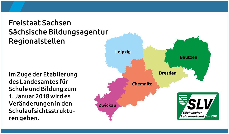 Regionalstellen der Sächsischen Bildungsagentur (SBA)